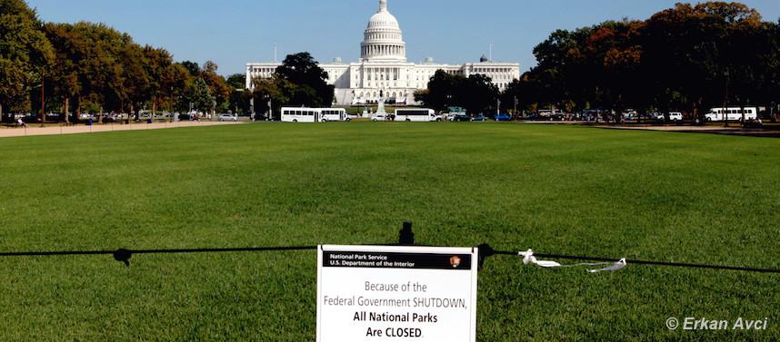 Que faire à Washington en cas de shutdown ?