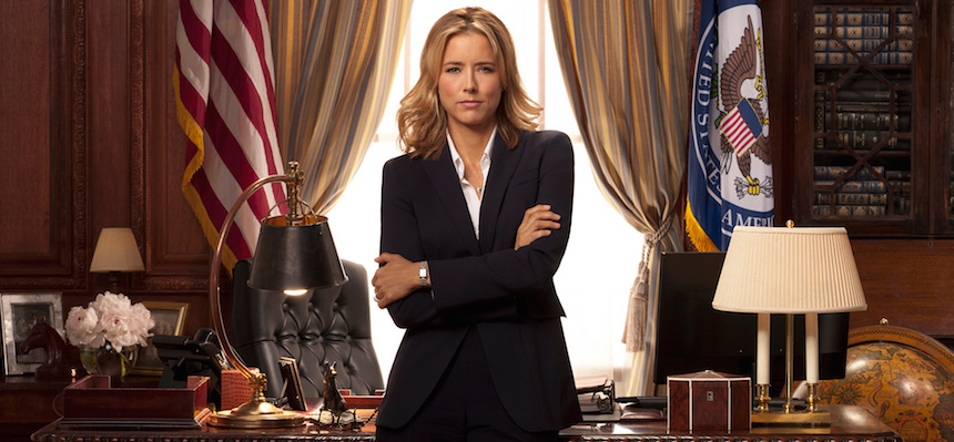 Séries à DC : Madam Secretary