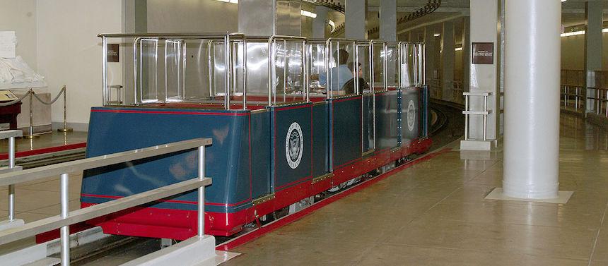 Insolite : le système de métro du Capitole
