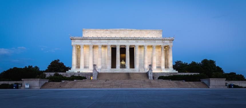 Les travaux en cours à Washington en 2018