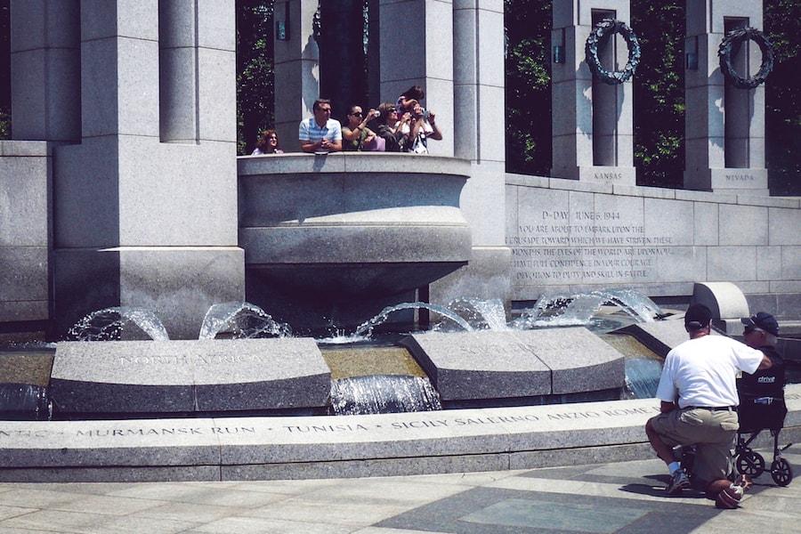 Témoignage : Dominique visite Washington en fauteuil roulant