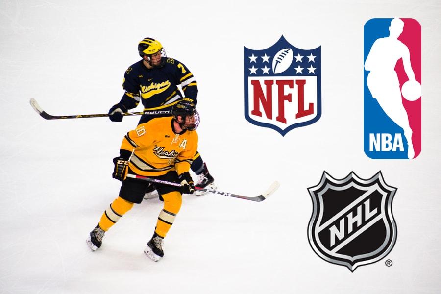 Assister à un match de la NBA, NHL et de la NFL