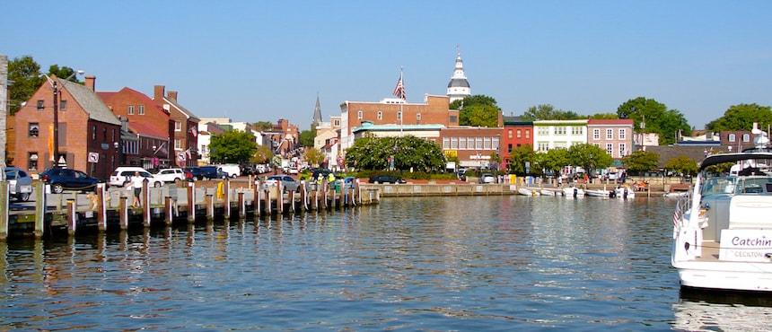 Annapolis et son Académie Navale