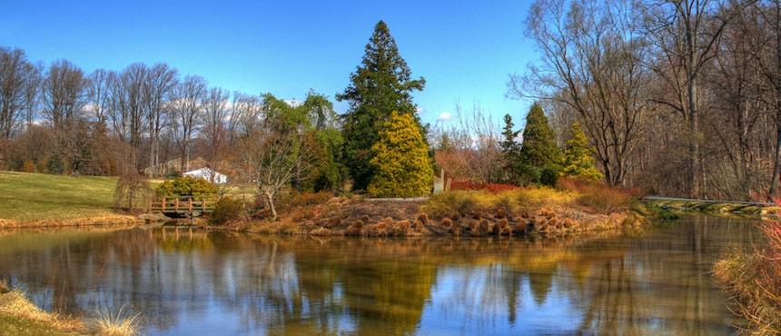 Brookside Gardens et ses nombreux jardins accessibles en métro