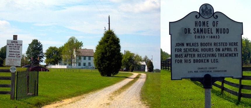 Excursion d'une journée sur les traces de John Wilkes Booth