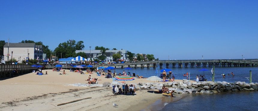 North Beach : un plage à une heure et demi de Washington