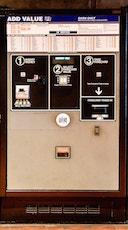 Exemple d'une Add Value Machine à une station de métro de Washington