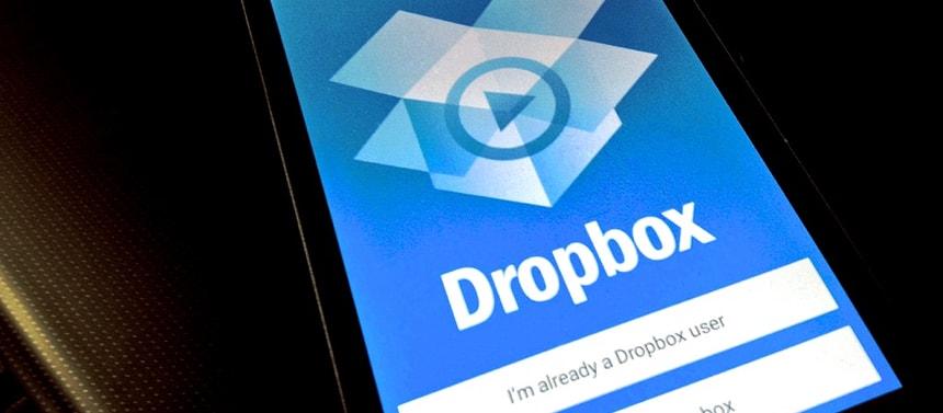 Dropbox est un solution pour sauvegarder vos documents importants en voyage