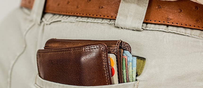 Évitez de mettre votre porte-feuille dans votre poche arrière